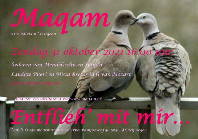 Concert 31 oktober 2021